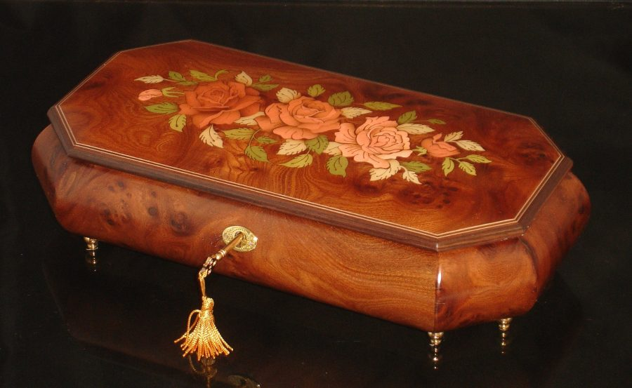 Italian Inlay Jewelry box