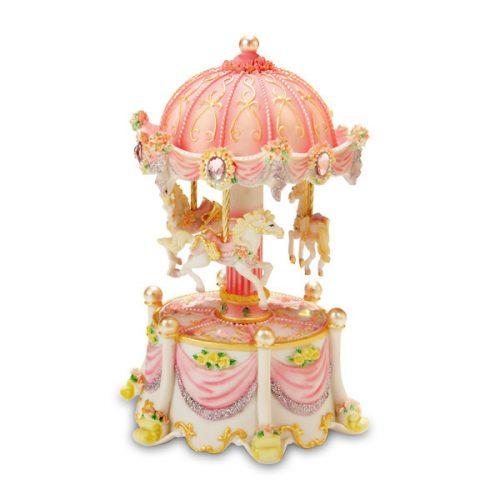 Carousel Dreams mini lighted carousel
