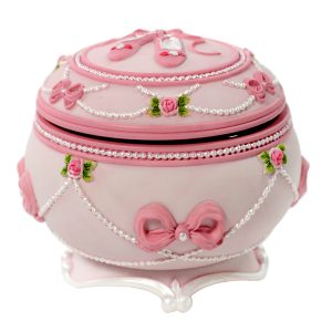 Ballet musical trinket box