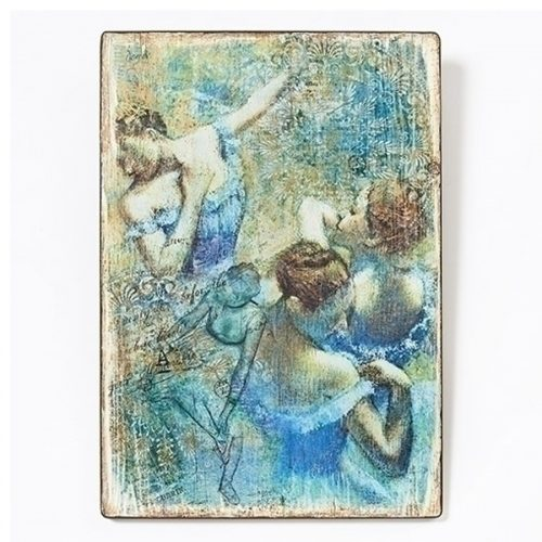 Degas The Blue Dancers wall plaque
