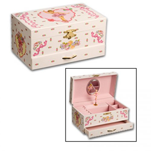 Ballerina Jewelry Box collage
