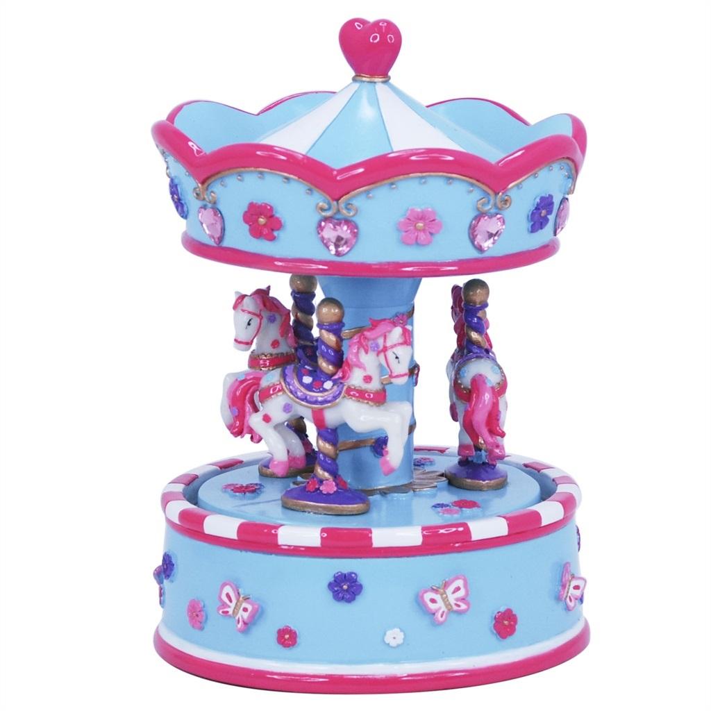 Blue Carousel for children