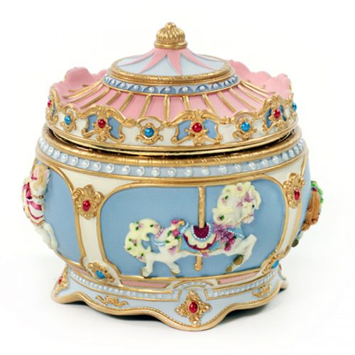 Carousel Horse Musical Trinket Box