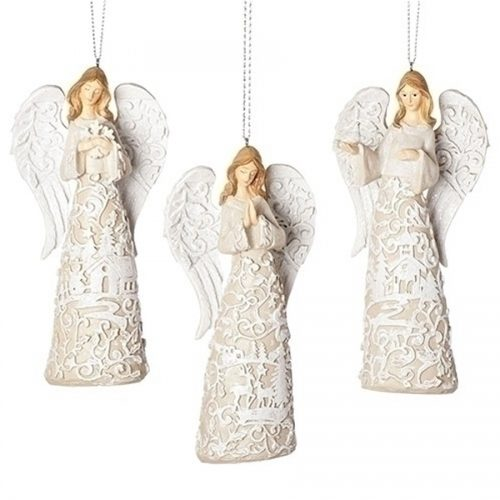Laser Cut Angel Ornament set