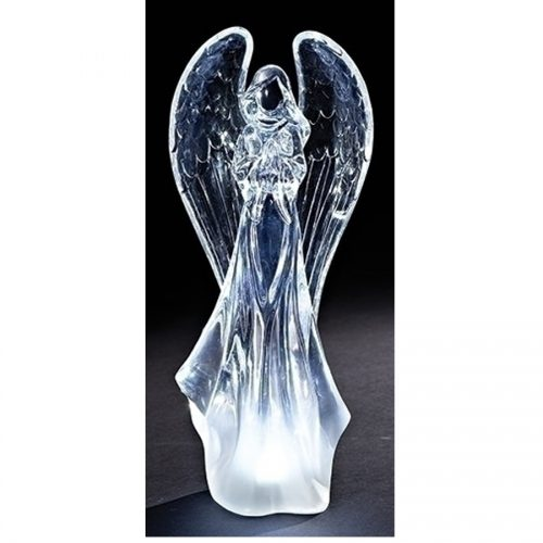 Lighted Acrylic Angel