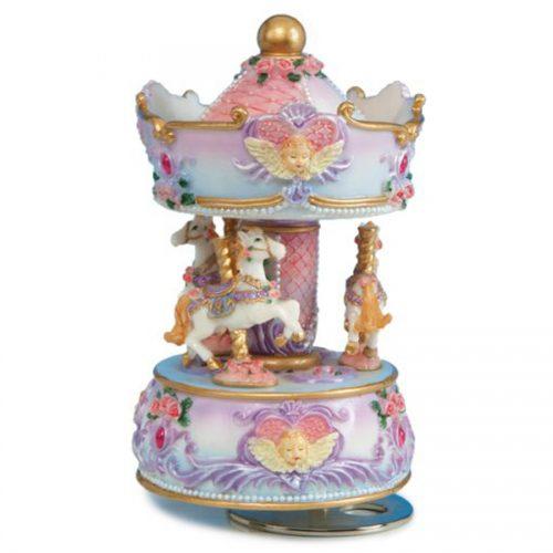 Mini Angel Bust Carousel 14138