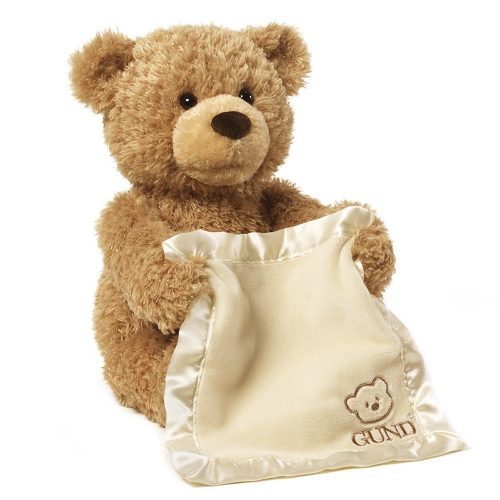Peek a Boo Bear plush toy
