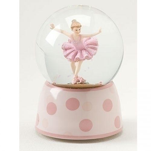 Polka Dot Ballerina Globe