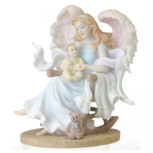 Seraphim Classics Angel Gretchen with child
