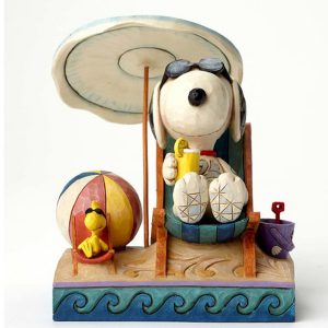 Snoopy and Woodstock Day at the Beach figurine by Jim Shore