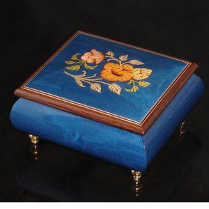 Italian Jewelry Box Dark Blue 17CF