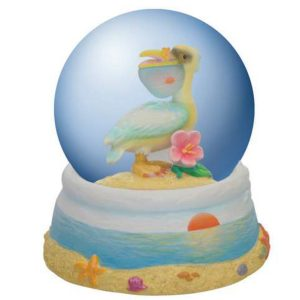 Beachcomber Pelican medium size water globe