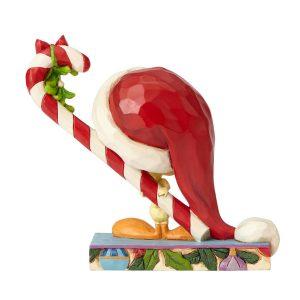 Tweety Christmas figurine by Jim Shore back view