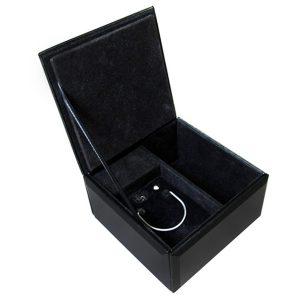 Phantom of the Opera Musical Glass Jewelry Box opened 50209