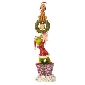 Grinch Stacked Figurine by Jim Shore
