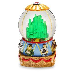 Oz Hot Air Balloon musical water globe