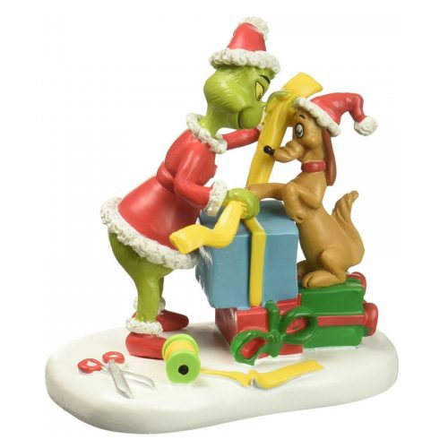 The Grinch, Max lends a helping paw, department 56 4057290