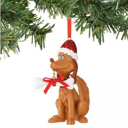 Max with bone Christmas ornament department 56 4044918