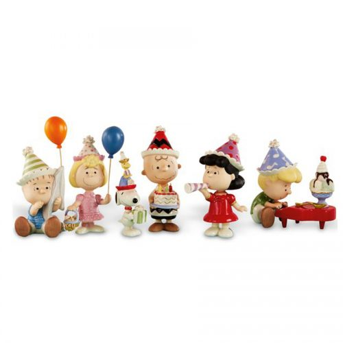 Peanuts 6 piece birthday party set by Lenox