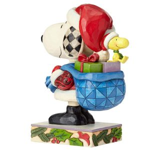 Snoopy Claus Back View
