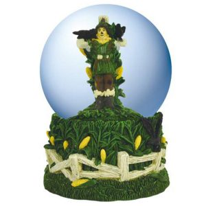 Musical Scarecrow Water Globe