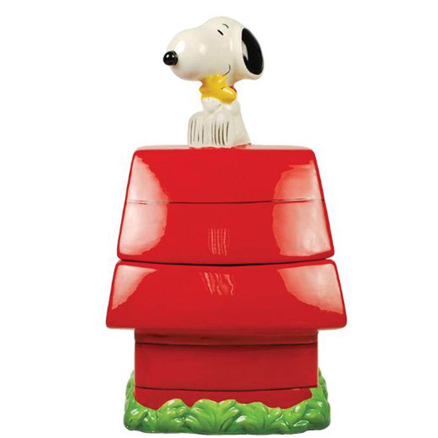 Snoopy Dog House Cookie Jar 20761