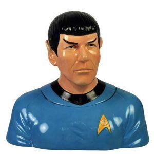 Spock Cookie Jar from Star Trek