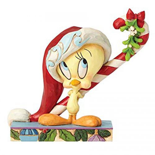 Tweety Christmas figurine with Candy Cane by Jim Shore 4052809