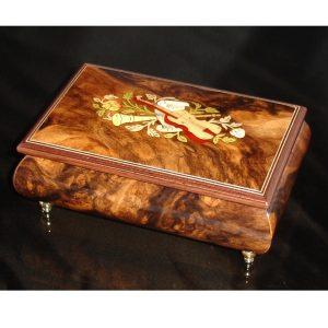 Italian Jewelry Box Walnut 04CVM