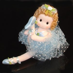 Ballerina doll in blue