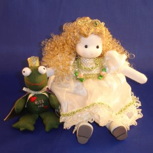 Princess and the Frog musical doll