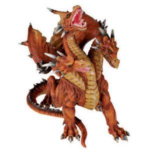 3 Headed Azhi Dragon