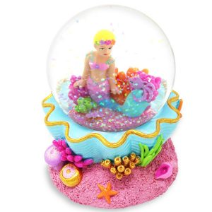 Under the Sea Musical Mermaid Water Globe