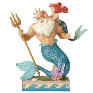 Ariel-&-King-Triton-Jim-Shore