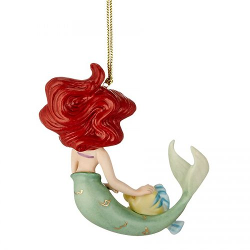 Ariel Ornament by Lenox back view