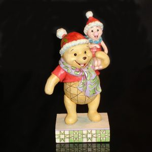 Christmas Pooh and Piglet by Jim Shore