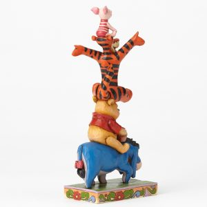 Eeyore Pooh Tigger Piglet Stacked back view