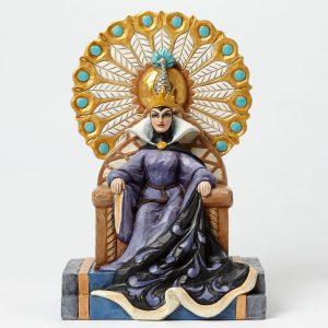 Evil Queen in throne Jim Shore