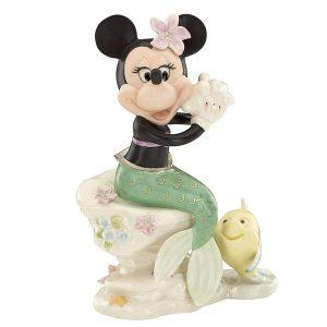 Minnie Under the Sea Lenox Figurine