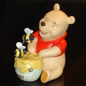 Winnie the Pooh with Bees left angle