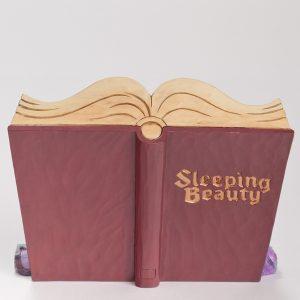 Sleeping Beauty Storybook back-view