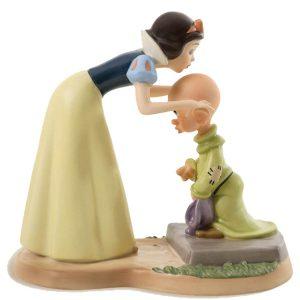 Snow White kissing Dopey Disney Classics