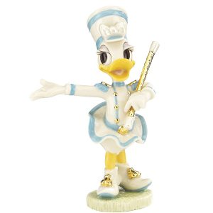 Disney Twirling Daisy Marching Band figurine by Lenox