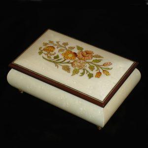 04CF-White-Italian-Musical-Jewelry-Box