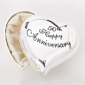 50th-Anniversary-Silver- Heart-Box