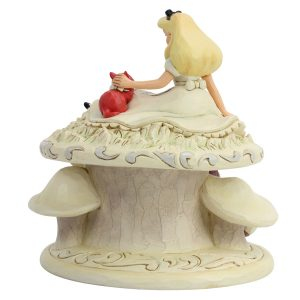 Alice-in-Wonderland-White-Woodland-figurine-back-view