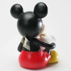 Mickey Mouse Bank back view