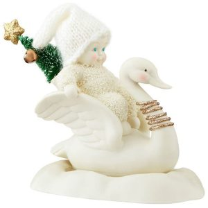 Snowbaby-Swans-a-Swimming