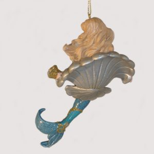 Mermaid-Shell-Ornament-back-view-E0214B