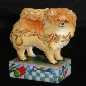 Pomeranian-Jim-Shore-figurine-angle
